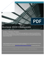 Who Are the Champions in Horizon 2020