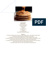 Pancake Mudah