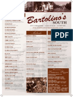 Bartolinos MENU South 06.09.15