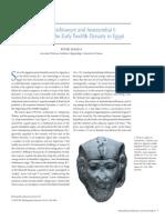 Montuhotep Nebtawyre and Amenemhat I the Metropolitan Museum Journal v 45 2010