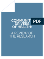 communitydriversofhealth researchbrief