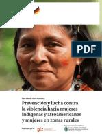 Con Mas de 5 Sentidos - Prevencion y Lucha Contra La Violencia Hacia Las Mujeres Indigenas Afroamericanas y de Zonas Rurales