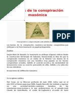 Teorías de La Conspiración Masónica
