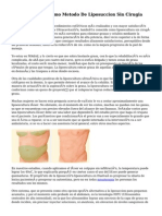La Mesoterapia Como Metodo De Liposuccion Sin Cirugia