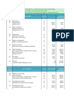 Presupuesto Auditorio