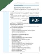 Decreto 108-2015, De 7 Julio Estructura Orgánica Administración Aragón