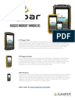 Cedar Handhelds Product Comparison Sheet MKTG0015