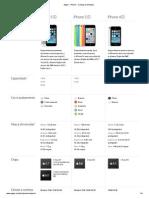 Apple - iPhone - Comparar Modelos