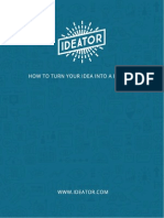 Ideator - How to Turn Your Idea Into a Business