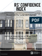 Realtors Confidence Index 2015-07-22