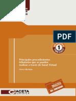 Principales Proced. Tributarios Que Se Pueden Realizar a Través de La Sunat Virtual