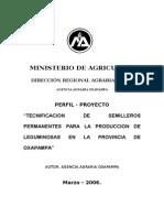 Proyecto Pastos Tecnificac Ion de Leguminosas