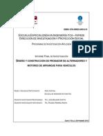 Diseño y Construcción de Probador de Alternadores y Motores de Arranque Para Vehículos