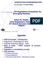 Developing NGN Regulatory Ecosystem for Emerging Markets