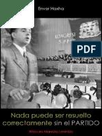 Enver Hoxha; Nada puede ser resuelto correctamente sin el partido, 1966.pdf