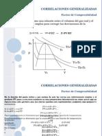 Ecuaciones-Correlaciones Generalizadas