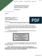 Sanchez v. Transworld Systems, Inc. - Document No. 4