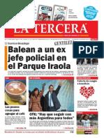 Diario La Tercera 22.07.2015