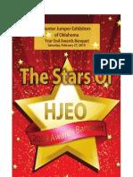 2010 HJEO Banquet Program