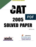 CAT 2005 CAT solved Paper set 1.pdf