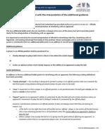 IFAB Additional Guidance - PGMOL