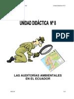 Curso de Auditoria Ambiental Unidad 8