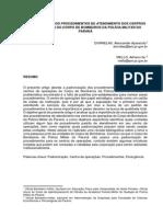 Artigo CAO - Cap Dornelas - Padronização Dos Procedimentos de Atendimento Dos Centros de Operações Do CBPMPR