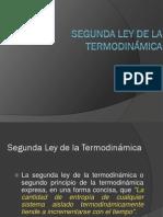 Segunda Ley de La Termodinamica