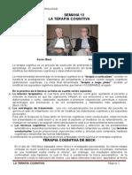 Aaron Beck y Albert Ellis - Personalidad Terapia Cognitiva