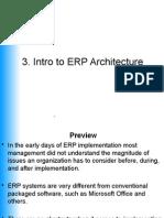 9622 3 ERP Architecture Intro