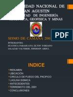 Sismo de Camana 2001