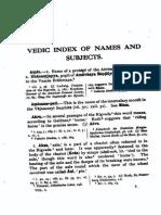 Vedic Index of Names 1