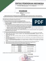 Edaran Pembayaran SPP UKT Dan Kontrak MK Online UPI BANDUNG