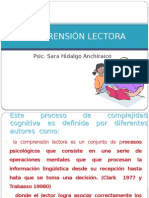 COMPRENSION LECTORA 2013