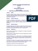 Codigo Adudanero Uniforme Centroamericano