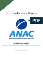 Simulado Para Banca ANAC - MET
