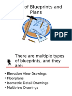 Types of Blueprints and Plans