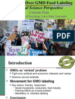 GMO's and Labeling