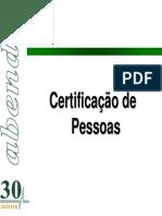 Certificação de Pessoas