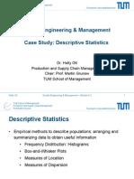 Case Example - Descriptive Statistics