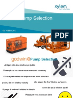 Godwin Pump Selection