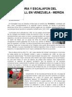 Historia y Escalafon Del Kickingball en Venezuela