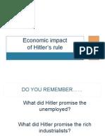 2013 Hitler Economic Impact