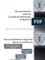 Clase Plan de Tratamiento y Bioseguridad en Endododoncia 2015