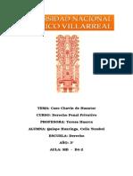 Caso Chavin de Huantar