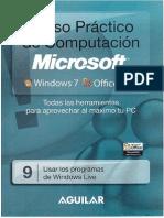 9.- Usar Los Programs de Windows Live