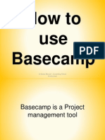 How to Use Basecamp
