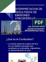 Interpretacion de de Emsiones Atmosfericas