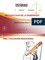 Tema 7 Evaluacion Educativa