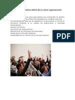 Difusión Del Diagnóstico Dentro de La Cultura Organizacional